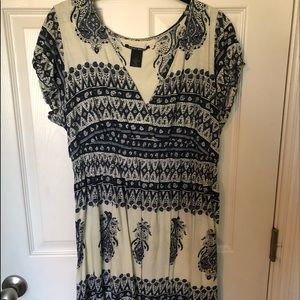 Lucky Brand bandana print dress